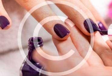 How to Get Geometric Nail Art